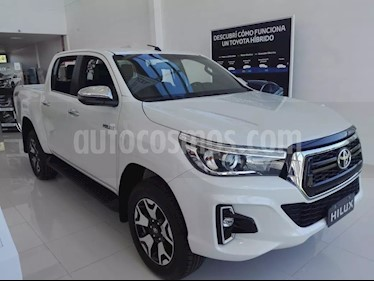 Foto venta Auto usado Toyota Hilux 2.8 4x2 SRX TDi DC Aut (2019) color Blanco precio $1.550.000