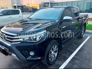 Foto venta Auto usado Toyota Hilux 2.8 4x4 SRX TDi DC Aut (2018) color Negro precio $1.600.000