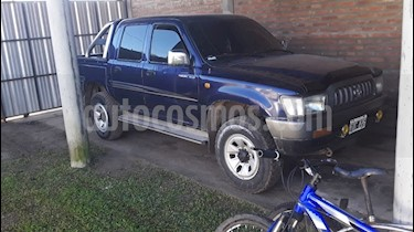 Foto venta Auto usado Toyota Hilux 3.0 4x2 DX DC AA (2003) color Azul precio $380.000