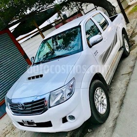 Foto venta Auto usado Toyota Hilux 3.0 4x2 SR TDi DC (2012) color Blanco precio $850.000