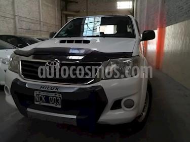 Toyota Hilux 3.0 4x2 SR TDi DC usado (2013) color Blanco precio $790.000