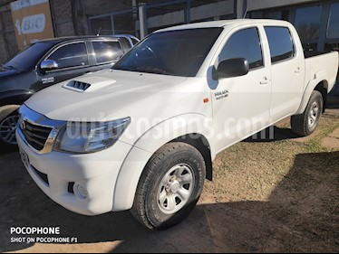 Toyota Hilux 3.0 4x2 SR TDi DC usado (2015) color Blanco precio $1.200.000