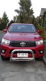 Foto venta Auto usado Toyota Hilux 3.0 4X4 Cabina Doble DX (2017) color Rojo precio $14.000.000