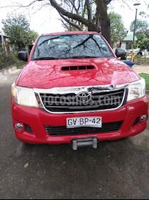 Toyota Hilux 3.0 4X4 Cabina Doble SRV usado (2014) color Rojo precio $11.500.000