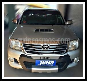 Foto venta Auto usado Toyota Hilux 3.0 4x4 DX SC (2013) color Gris Claro precio $875.000