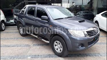 Foto venta Auto usado Toyota Hilux 3.0 4x4 DX SC (2014) color Gris Oscuro precio $795.000