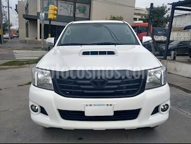 Foto venta Auto usado Toyota Hilux 3.0 4x4 Limited TDi DC Cuero Aut  (2015) color Blanco precio $1.100.000