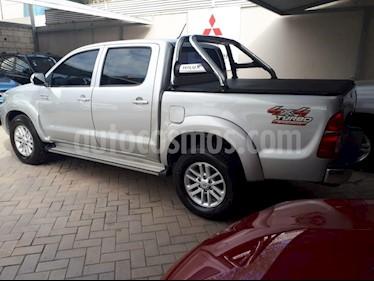 Foto venta Auto usado Toyota Hilux 3.0 4x4 Limited TDi DC Cuero Aut  (2013) color Gris Claro precio $1.150.000