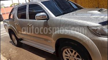 Foto venta Auto usado Toyota Hilux 3.0 4x4 SRV TDi DC Cuero Aut (2012) color Gris precio $840.000