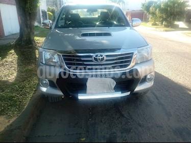 Foto venta Auto usado Toyota Hilux 3.0 4x4 SRV TDi DC Cuero Aut (2012) color Plata precio $868.000
