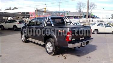 Toyota Hilux 3.0 4x4 SRV TDi DC Cuero usado (2015) color Negro precio $1.450.000