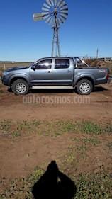 Toyota Hilux 3.0 4x4 SRV TDi DC Cuero usado (2015) color Gris Oscuro precio $970.000
