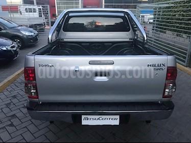 Toyota Hilux 3.0 4x4 SRV TDi DC usado (2013) color Gris Claro precio $870.000