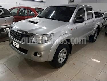 Foto venta Auto usado Toyota Hilux 3.0 4x4 SRV TDi DC (2014) color Plata precio $750.000