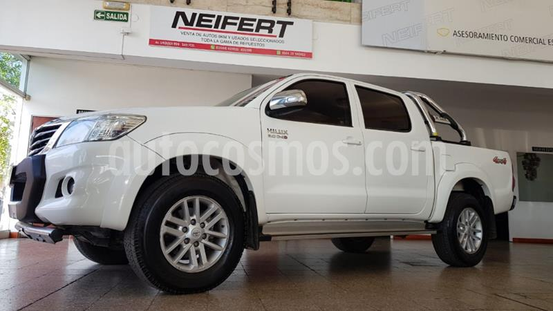 Toyota Hilux 3.0 4x4 SRV TDi DC usado (2014) color Blanco precio $27.500.000
