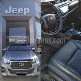 Toyota Hilux 2.8 4x2 SRX TDi DC Aut usado (2018) color Gris Claro precio $2.300.000