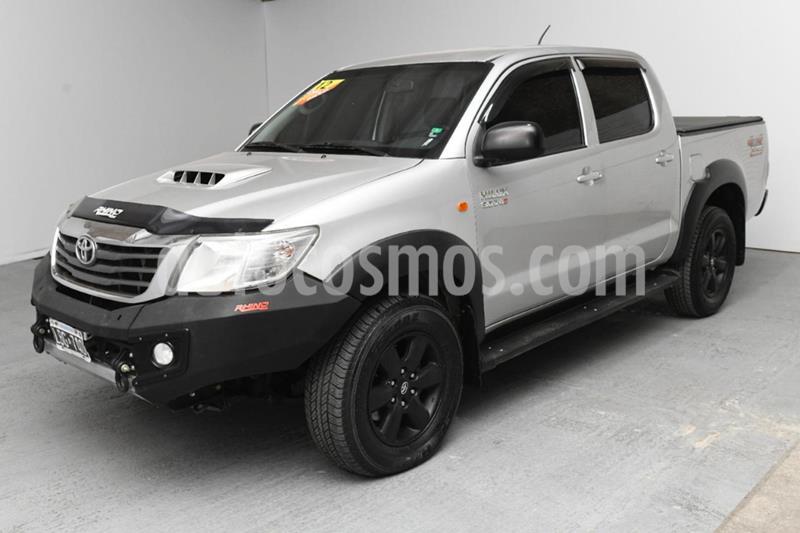 Toyota Hilux 3.0 4x4 SR TDi DC usado (2012) color Gris Claro precio $1.620.000