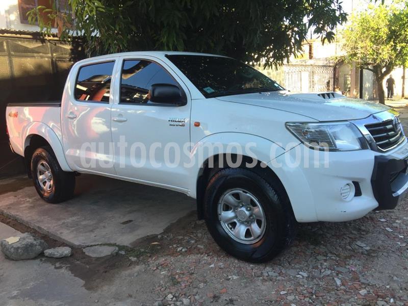 Toyota Hilux 3.0 4x4 SR TDi DC usado (2014) color Blanco precio $1.950.000