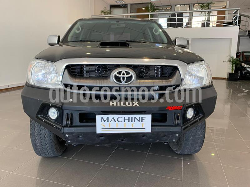 Toyota Hilux 3.0 4x4 SRV TDi DC usado (2011) color Negro precio $2.100.000