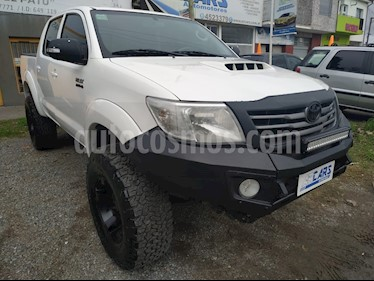 Toyota Hilux 3.0 4x4 SRV TDi DC usado (2012) color Blanco precio u$s14.700