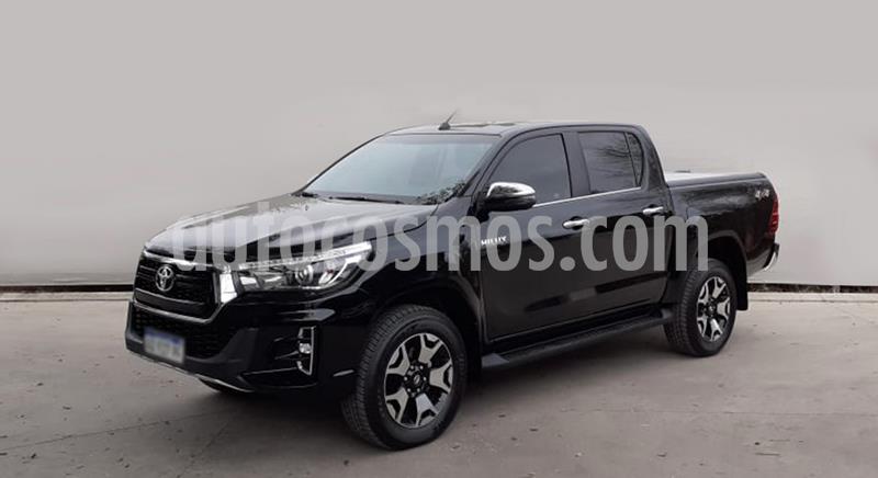 Toyota Hilux 2.8 4x4 SRV TDi DC usado (2019) color Negro precio $3.400.000