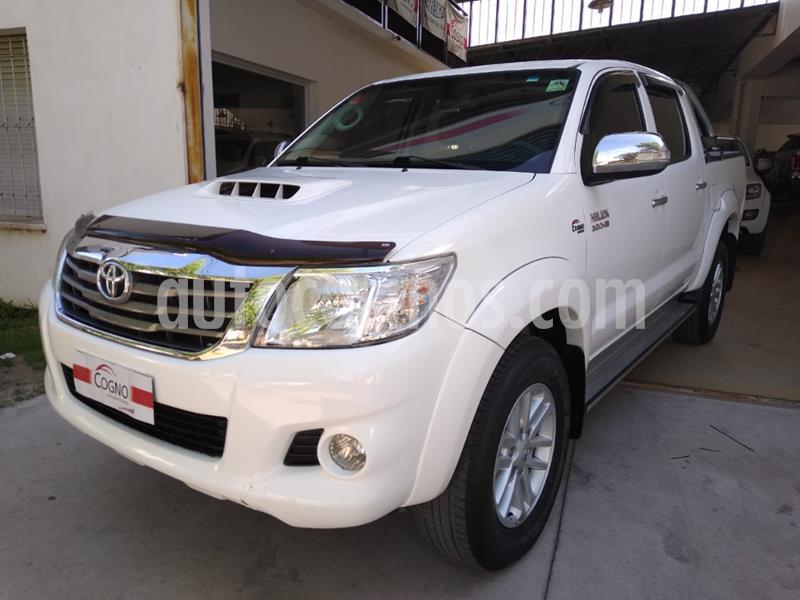 Toyota Hilux 3.0 4x2 SR TDi DC usado (2015) color Blanco precio $2.790.000