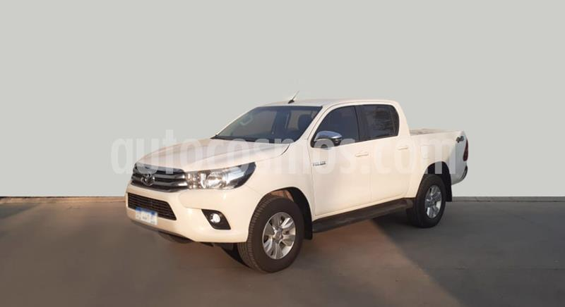 Toyota Hilux 2.8 4x4 SRV TDi DC usado (2018) color Blanco precio $3.000.000