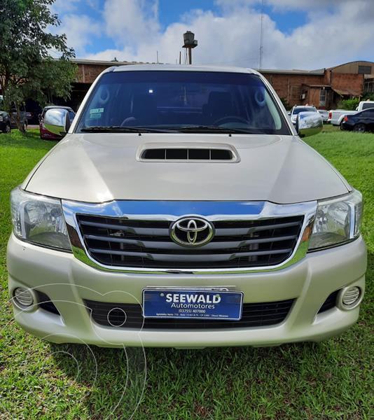 Toyota Hilux 3.0 4x2 SR TDi DC usado (2014) color Beige precio $2.500.000