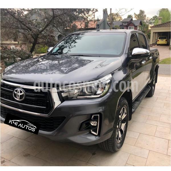 Toyota Hilux 2.8 4x2 SRX TDi DC Aut usado (2019) color Gris Oscuro precio u$s21.438