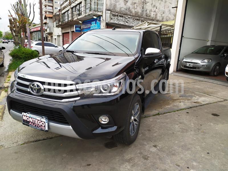 Toyota Hilux 4X2 Cabina Doble SRX 2.8 TDi Aut usado (2018) color Negro precio $3.500.000