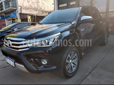 Toyota Hilux 2.8 4x2 SRX TDi DC Aut usado (2018) color Negro precio $2.290.000