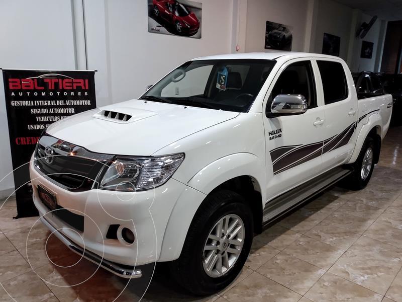 Foto Toyota Hilux 3.0 4x2 SRV TDi DC Cuero usado (2015) color Blanco precio $3.500.000