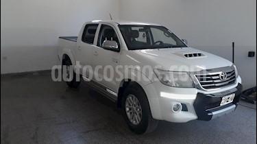 Toyota Hilux 3.0 4x4 SRV TDi DC usado (2012) color Blanco precio $1.280.000