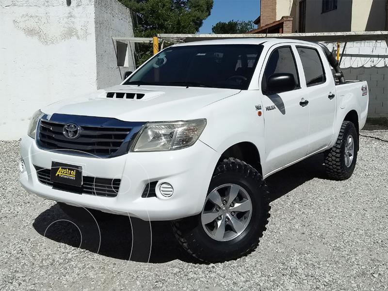 Toyota Hilux 2.5 4x4 DX DC usado (2015) color Blanco precio $1.500.000