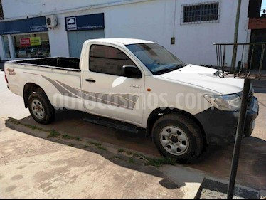 Toyota Hilux 2.5 4x4 DX TDi Pack DC usado (2015) color Blanco precio $940.000