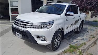 Toyota Hilux 2.8 4x2 SRX TDi DC Aut usado (2016) color Blanco precio $1.970.000