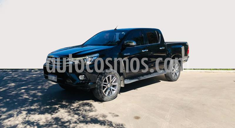 Toyota Hilux 2.8 4x4 SRV TDi DC usado (2016) color Negro precio $3.100.000