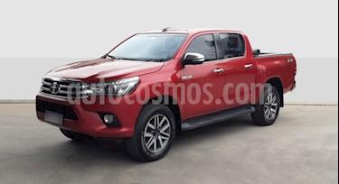 Toyota Hilux 2.8 4x4 SRX TDi DC Aut usado (2016) color Rojo precio $1.790.000