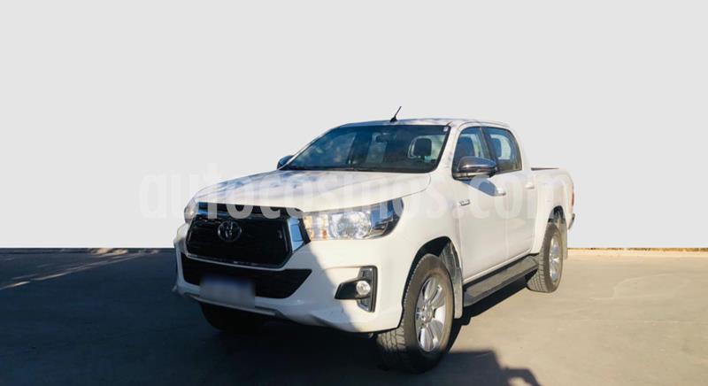 Toyota Hilux 2.8 4x2 SRV TDi DC usado (2019) color Blanco precio $2.690.000