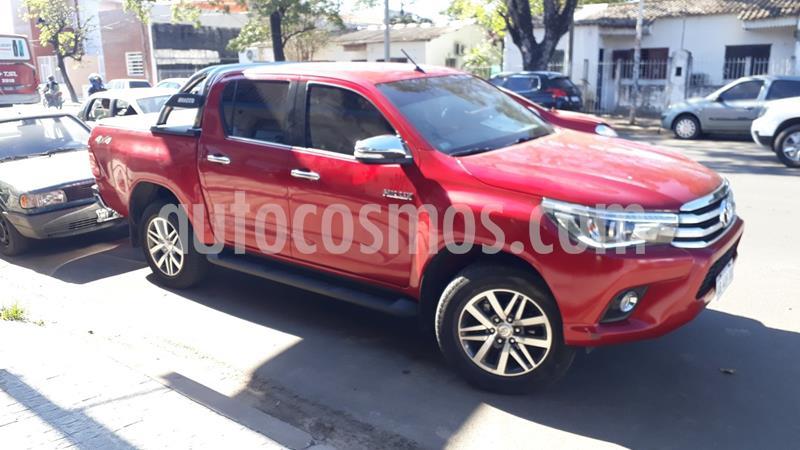 Toyota Hilux 2.8 4x4 SRX TDi DC Aut usado (2017) color Rojo precio $2.950.000