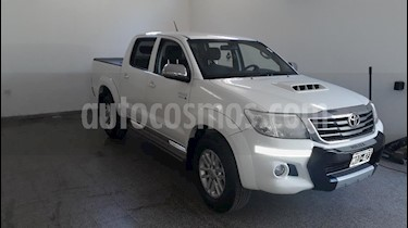 Toyota Hilux 3.0 4x4 SRV TDi DC usado (2012) color Blanco precio $1.390.000