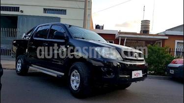 Toyota Hilux 2.5 4x2 DX Pack DC usado (2010) color Negro precio $660.000