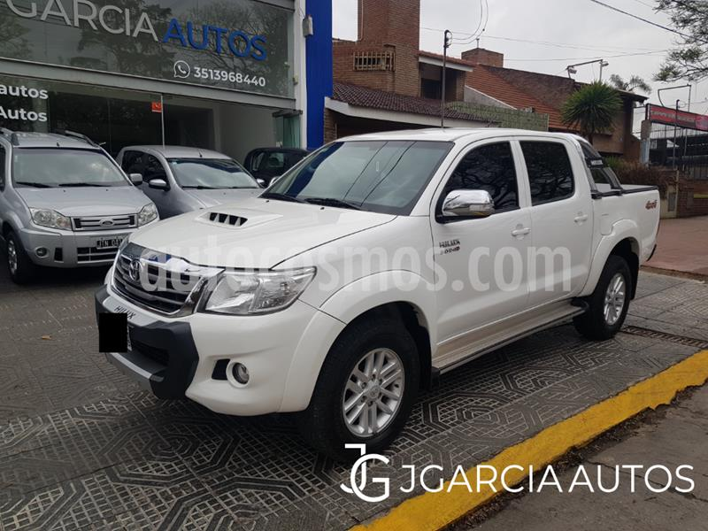 Toyota Hilux 3.0 4x4 SRV TDi DC usado (2014) color Blanco precio $2.650.000