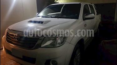 Toyota Hilux 3.0 4x4 SRV TDi DC Cuero Aut usado (2014) color Blanco precio $1.620.000