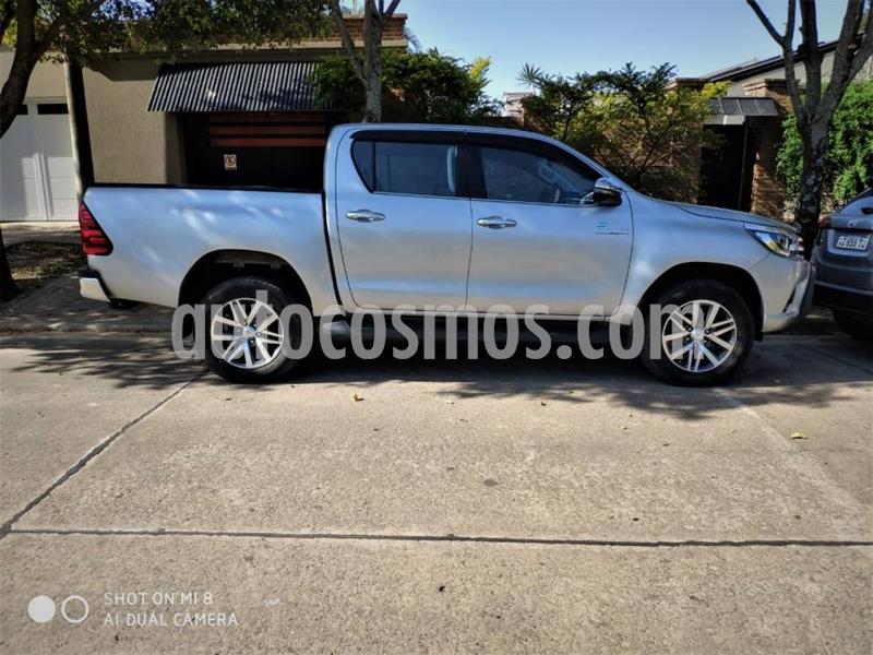 Toyota Hilux 2.8 4x2 SRX TDi DC usado (2018) color Gris precio $3.100.000