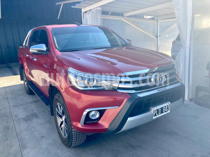 Toyota Hilux 2.8 4x4 SRX TDi DC Aut usado (2016) color Rojo precio $2.945.000