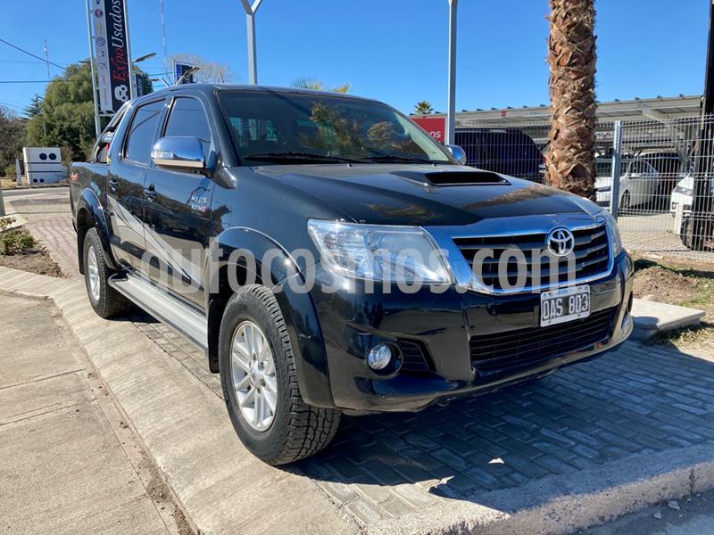Toyota Hilux 3.0 4x4 SRV Limited TDi DC Cuero Aut usado (2014) color Negro precio $2.255.000