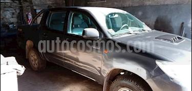 Toyota Hilux 2.5 4x4 DX TDi Pack DC usado (2015) color Gris Oscuro precio $950.000