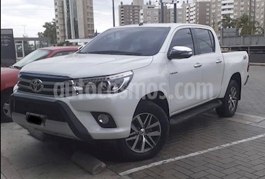 Toyota Hilux 2.8 4x4 SRX TDi DC usado (2016) color Blanco precio $2.280.000