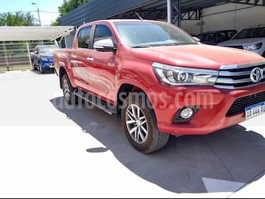 Toyota Hilux 2.8 4x4 SRX TDi DC Aut usado (2016) color Rojo precio $1.880.000